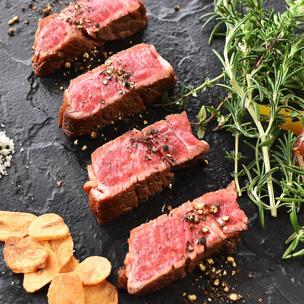 下北牛 ステーキカット用 リブロース 300g 牛肉 クール冷凍便