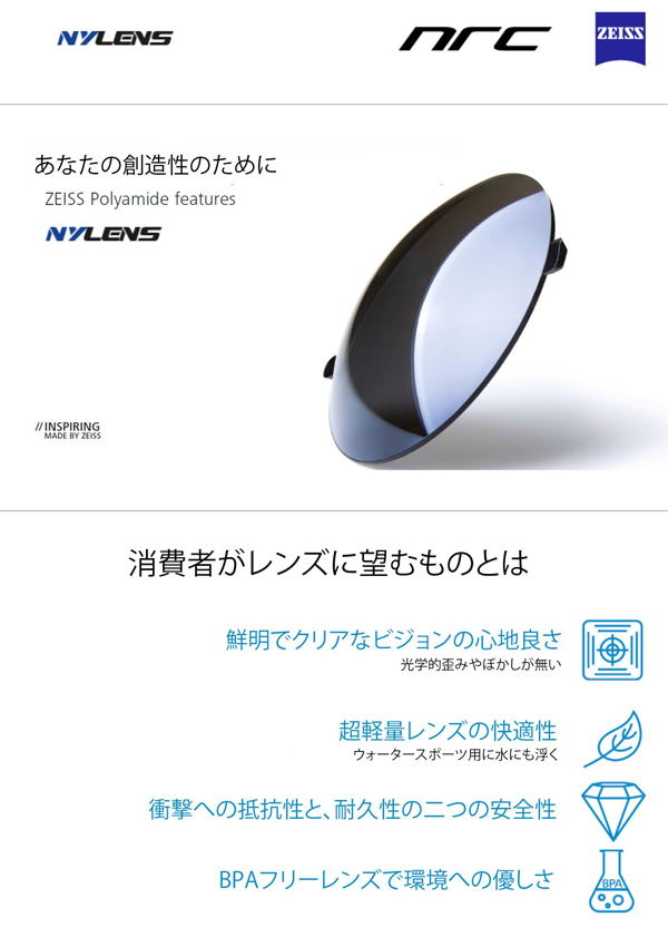 X3モデル ギザロ ※New Red Nylens