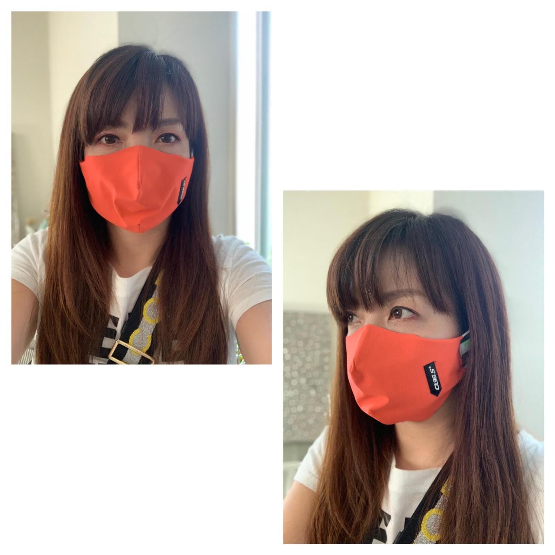 フェイスマスク_orange