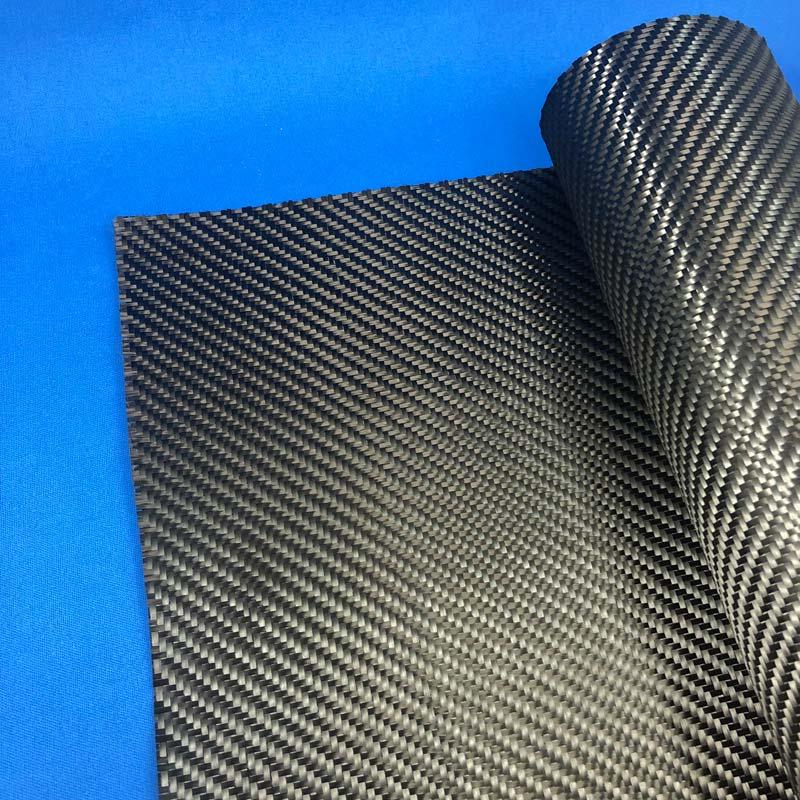 カーボンクロス綾織(目止め)CF3000 1000mm幅