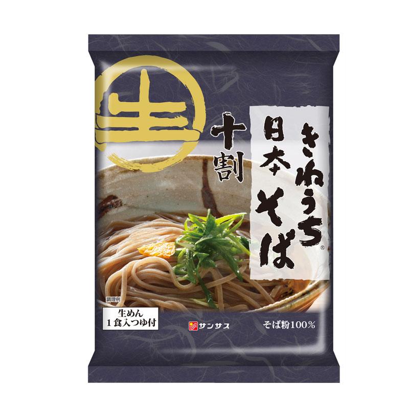 十割日本そば(1食入り・スープ付)12パック