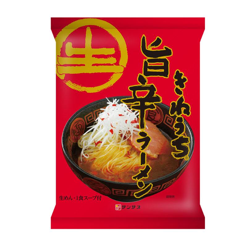 旨辛ラーメン(1食入り・スープ付)12パック