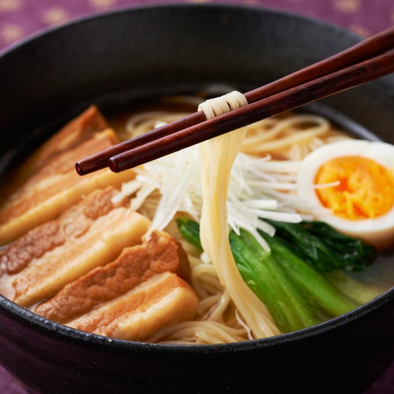 ラーメンしょうゆ味(2食入り・スープ付)6パック/10パック