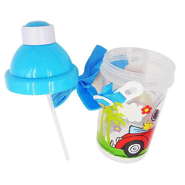 スヌーピーストローホッパー水筒 1個