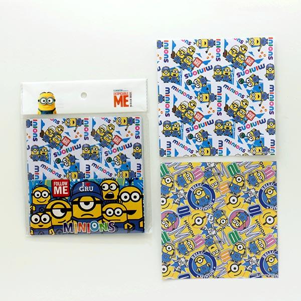 折り紙15枚入り ミニオンズ 25個