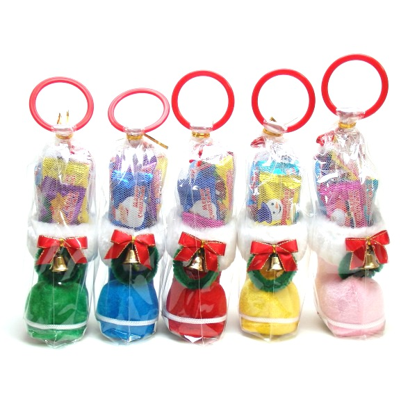 カラフルミニブーツ8.5センチ【クリスマスブーツ】