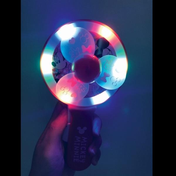 ディズニー光るハンディ扇風機 12個セット
