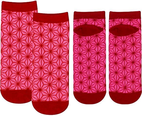和柄カラフル靴下 12個セット