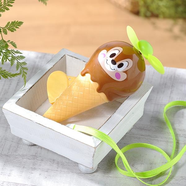 ディズニーアイスクリーム型扇風機手動式 12個セット