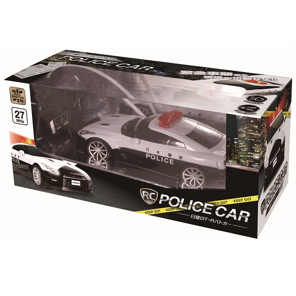 RC 日産GT-Rパトカー