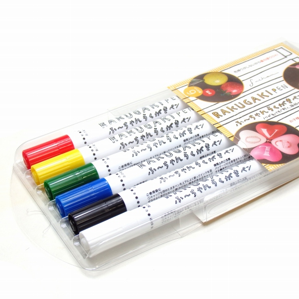 ふ〜ちゃん らくがきペン 6色セット