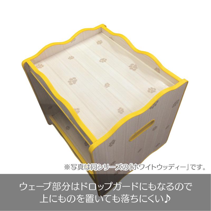 犬服収納BOX つむテリア ハンガータイプ(ホワイトキルティング)積んで並べて自由自在!便利な収納BOX