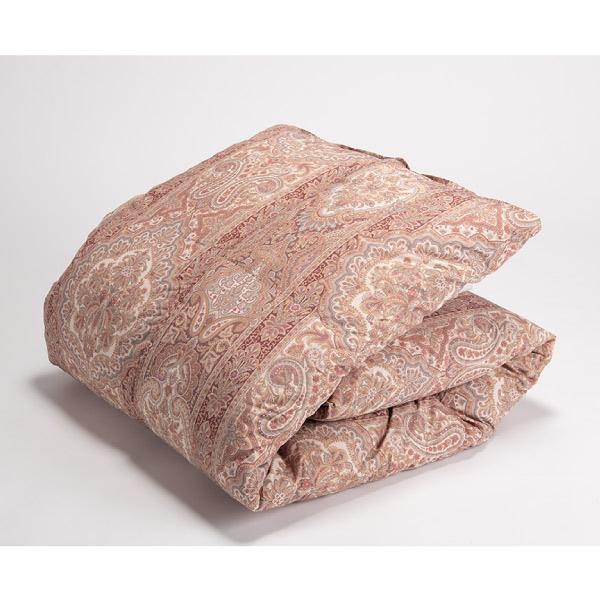 【シングル】【日本製】羽毛85%使用 立体キルト羽毛布団 クレア (W150×D210cm) ※玄関先までの配達商品