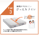【シングル】フランスベッド 質の高い寝心地 ポケットコイルマットレス ブランシュ シングル