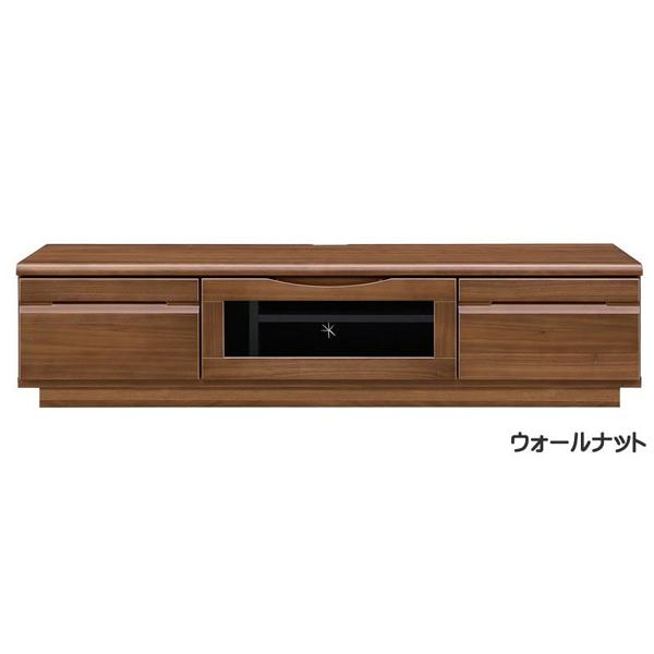 【幅150】フラップ扉のテレビボード メリー150 Merry ウォールナット/ホワイト