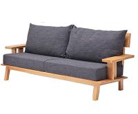 【アウトレット】売切れ御免!3人掛け 木製ソファー ステージ ナチュラル