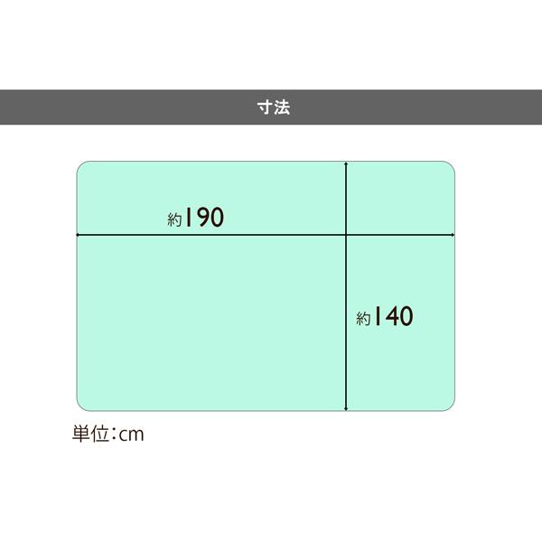 【静電気防止仕様】とろけるような肌ざわり 2枚合わせプリティ毛布 (140×190cm) ネイビー/ブルー/ピンク