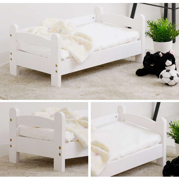 【猫用ベッド】【組立商品】ネコちゃん専用 1段ベッド (W70×D40×H30cm) ※玄関先までの配達商品