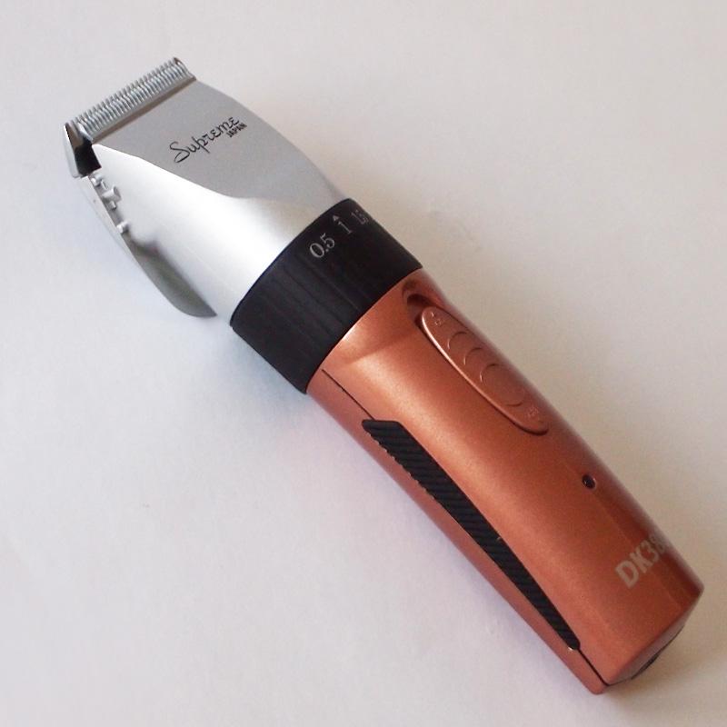 コードレスクリッパー DK380KIT ペールオレンジ 0.5〜2.5mm可変刃付