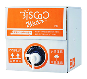 BiSCaO Water ビスカオウォーター詰替用 20L タンク