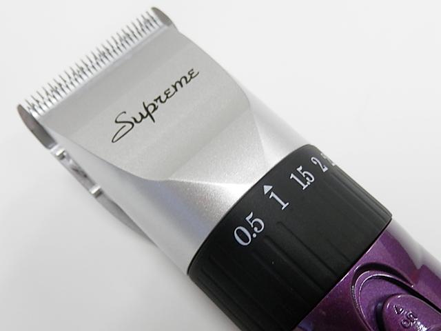 コードレスクリッパー DK380 ペールパープル 可変刃付       <ステンレスコーム付属無>