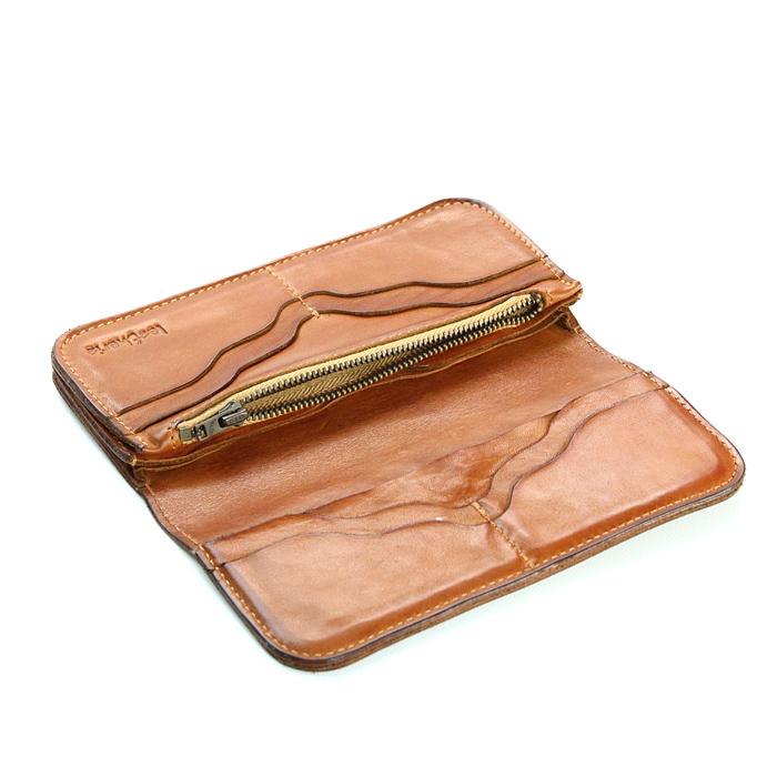 leatheria long wallet キャメル<br />長財布