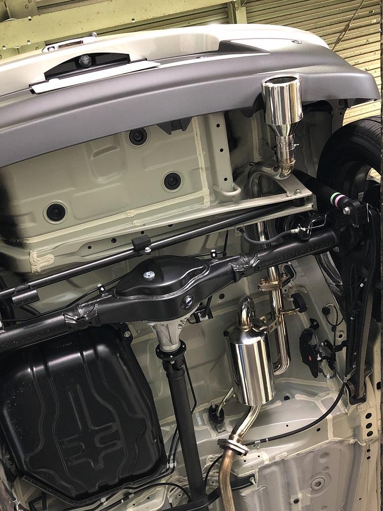 【業者配送】X BEE(4WD)用PFSループサウンドマフラー