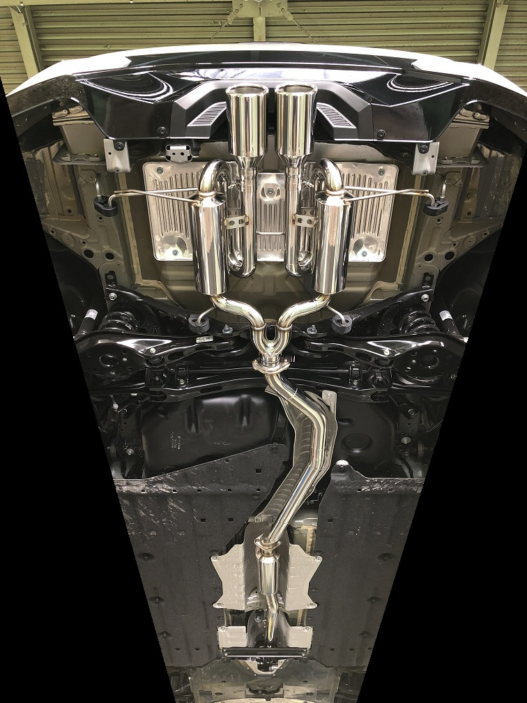 【業者配送】シビック・ハッチバック(MT車)用PFSループサウンドマフラー