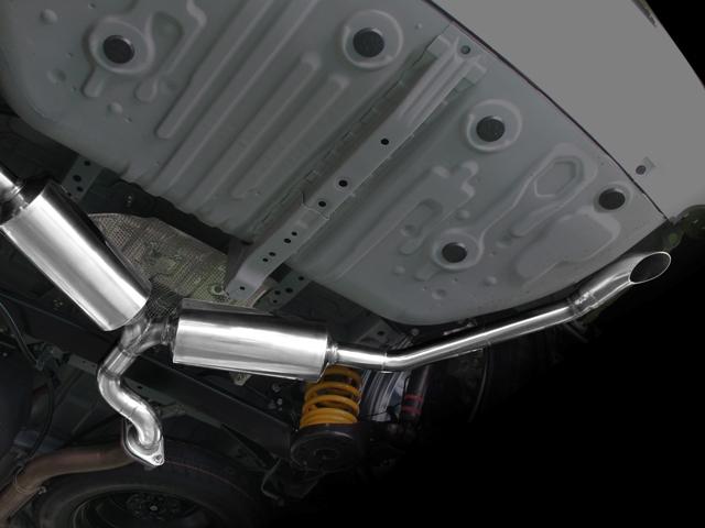 【業者配送】50系 エスティマ(2WD)用CPシリーズマフラー(PFSマフラーver:左右出し:下向きテール)