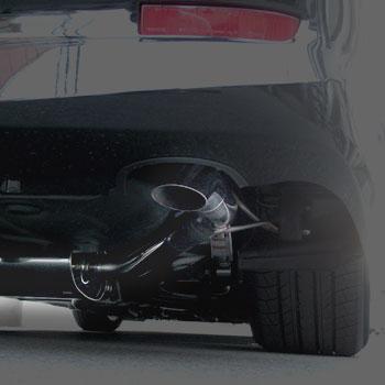 【業者配送】50系 エスティマ(2WD)用PFSマフラー(下向きテール)