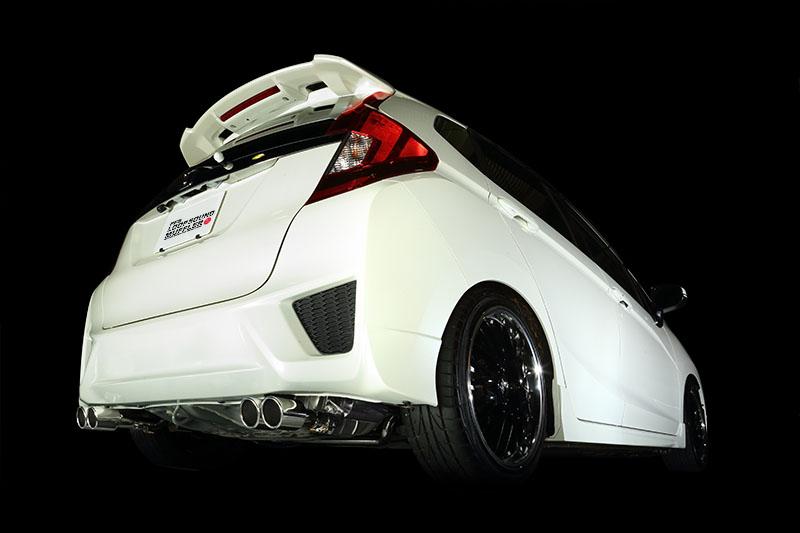【個人宅配送】フィットRS(GK5:CVT車)用PFSマフラー(4本出し)