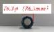 単品テールエンド : チタン76.3φ(1個)