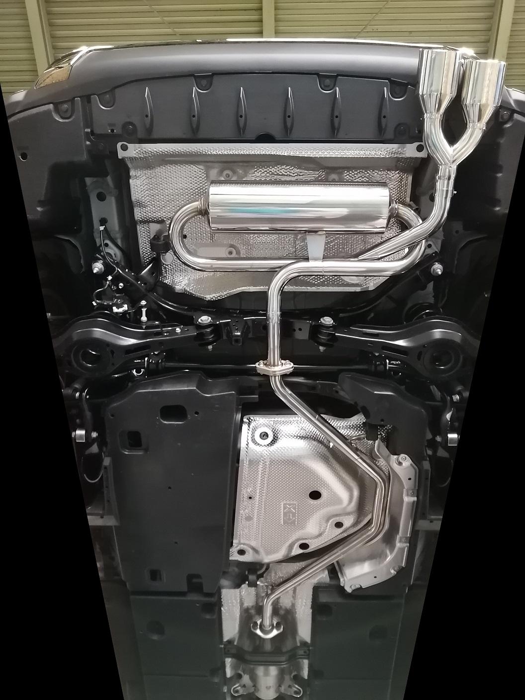 【個人宅配送】UX250h用PFSループサウンドマフラー