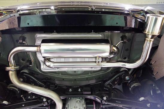 【個人宅配送】XV(e-BOXER搭載車)用PFSループサウンドマフラー