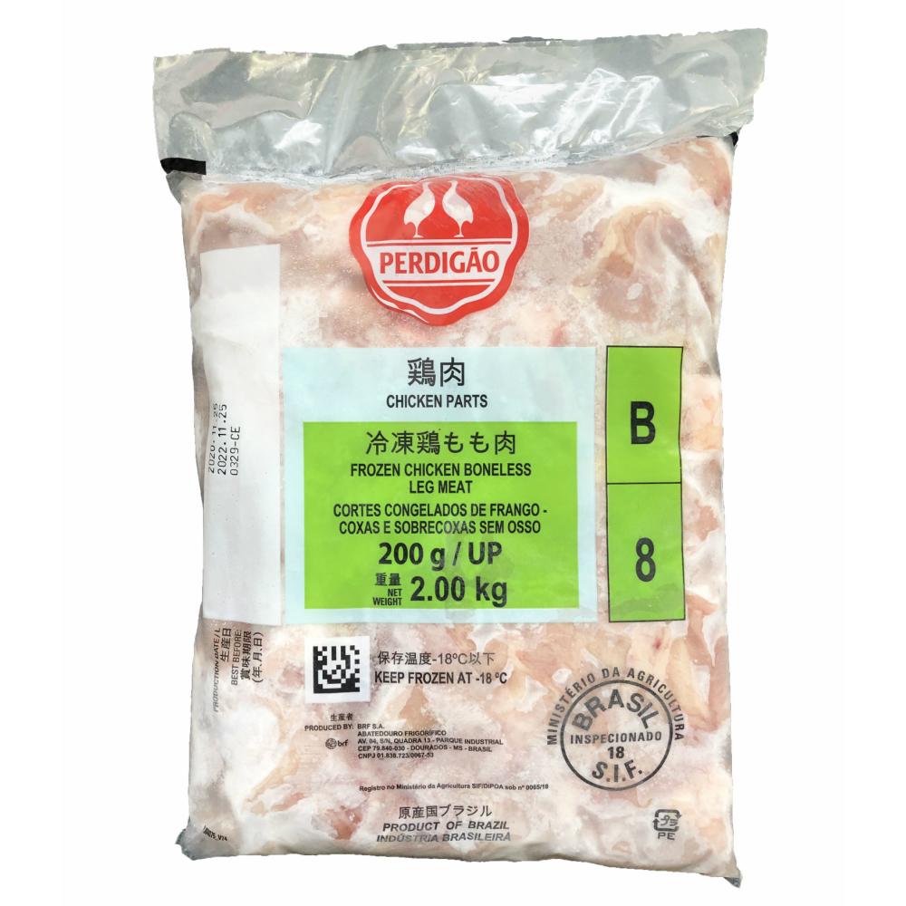 ブラジル 鶏もも正肉(200gUP) 2kg