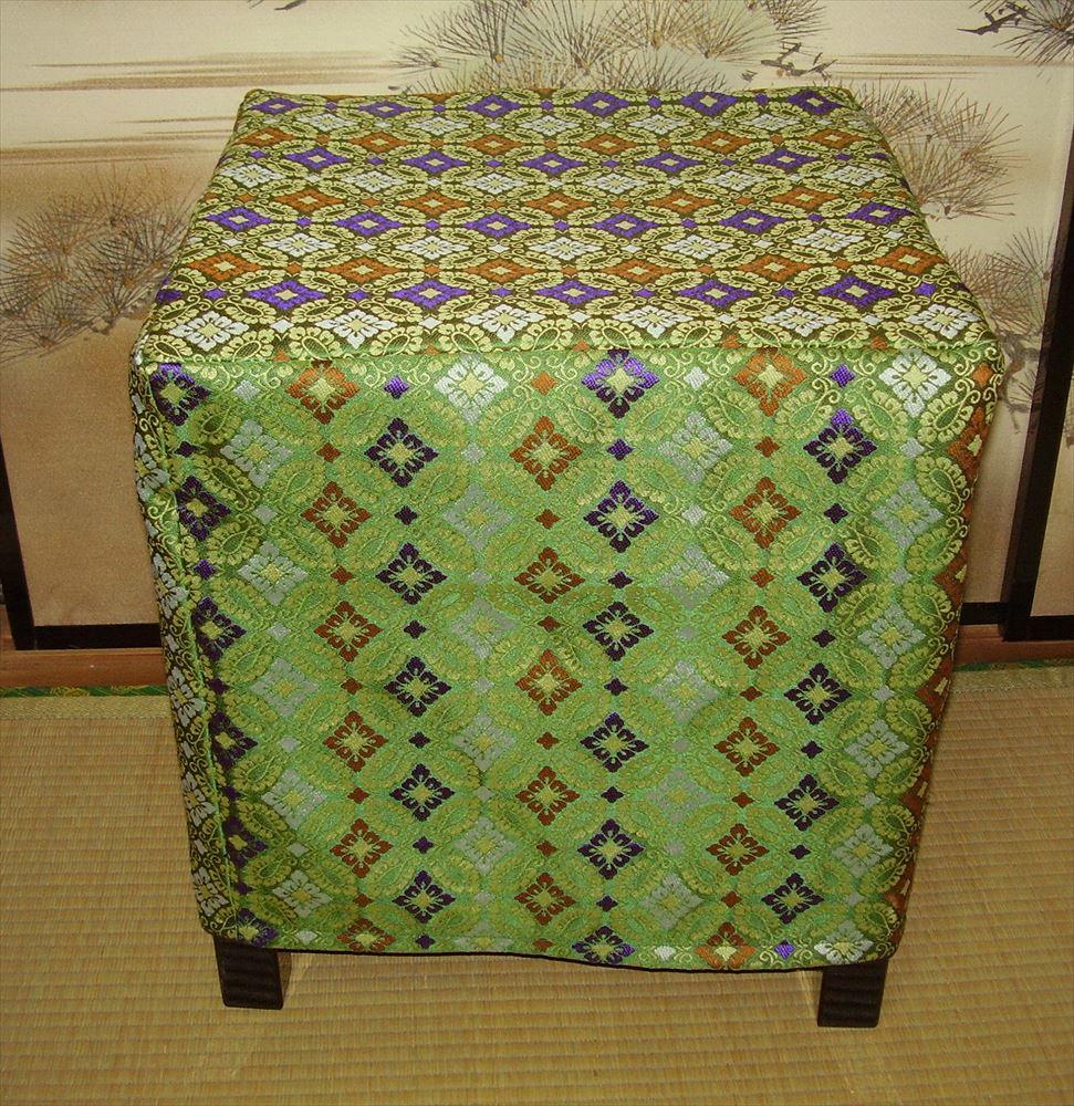 【 椅子 】 新郎用椅子(緑錦カバー付き)
