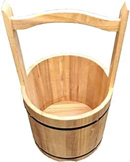 【 手桶 】 木製手桶 大