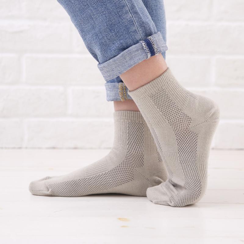 【歩くぬか袋】ショートソックス・メッシュ