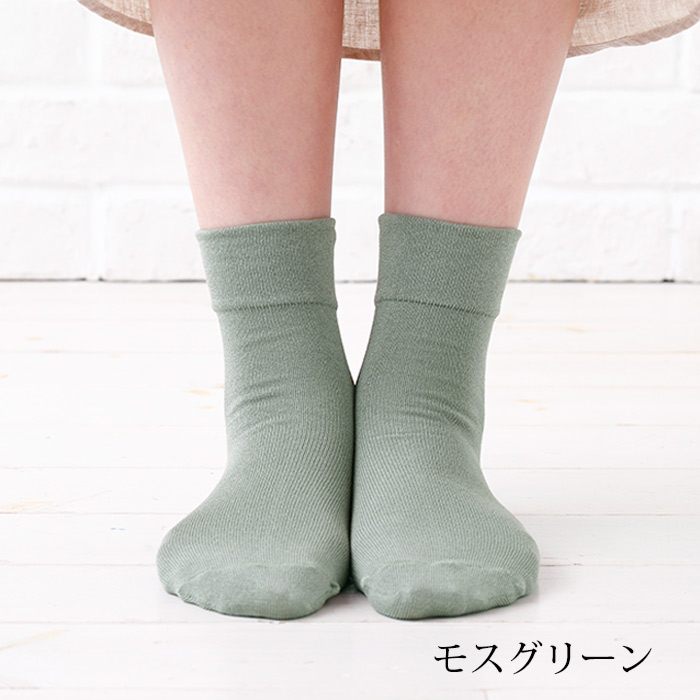 締め付けない靴下 春夏ショート丈