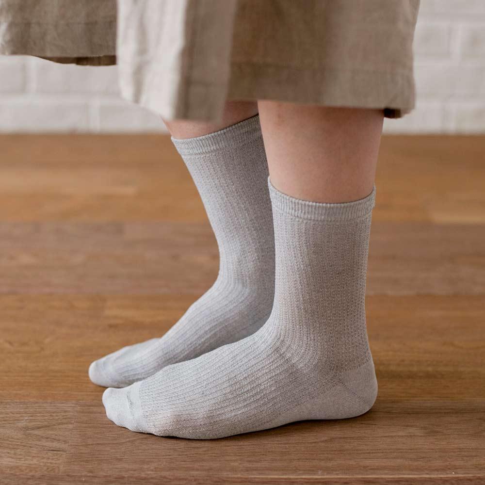 【さらっと米ぬか】 歩くぬか袋 メッシュリブ