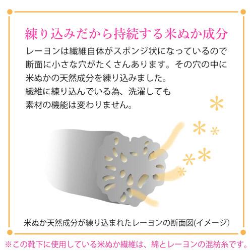 米ぬかエステレッグウォーマー【SALE】