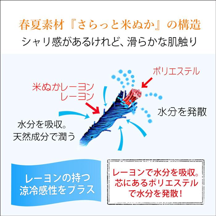 【さらっと米ぬか】アームカバー2双セット