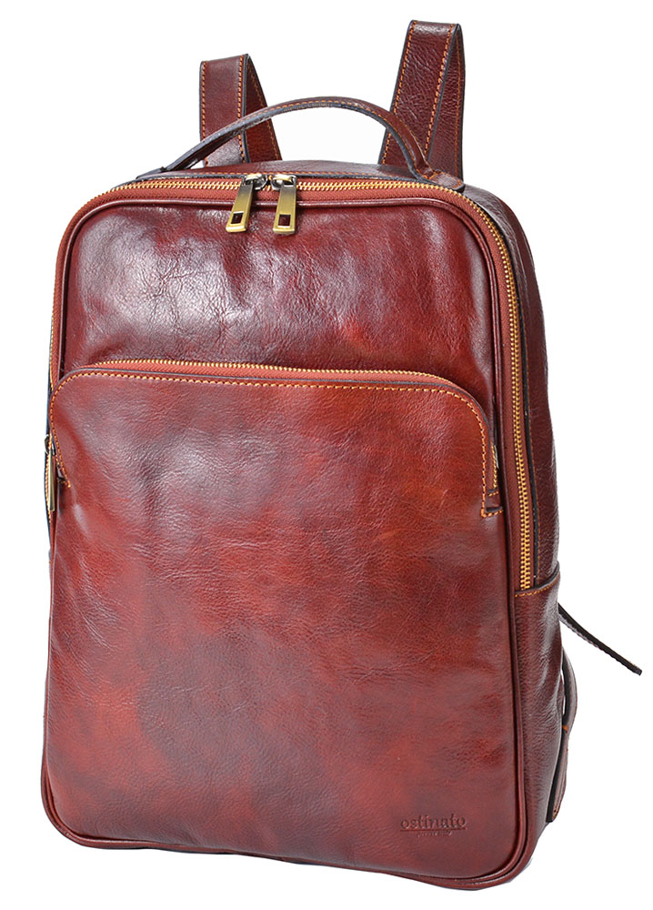Italian Leather Ruck