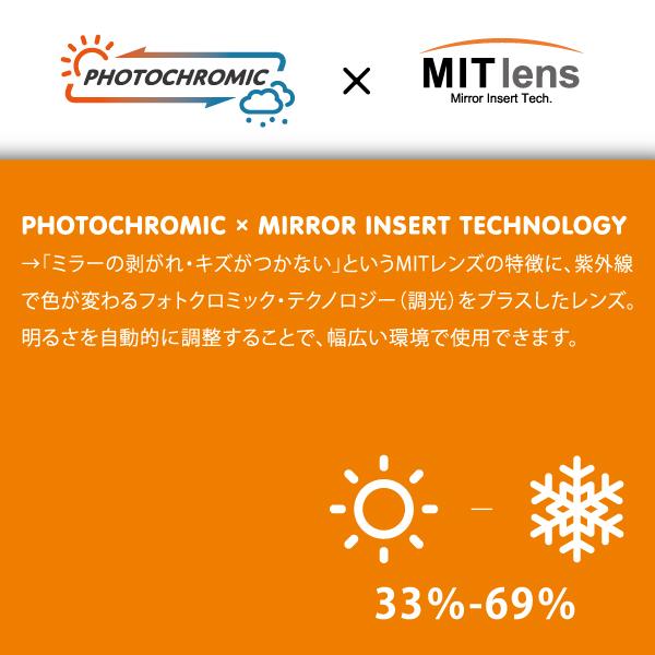 完売◆2020-2021 RIDGELINE-MDH-CMIT SLR MITミラー調光レンズ メガネ対応