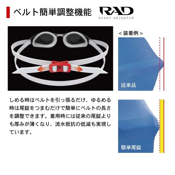 SR-81PPAF CLA 偏光レンズ オープンウォーターモデル