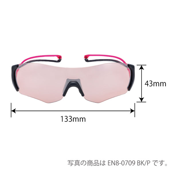 EN8-0709 BK/P E-NOX EIGHT8 ミラーレンズモデル