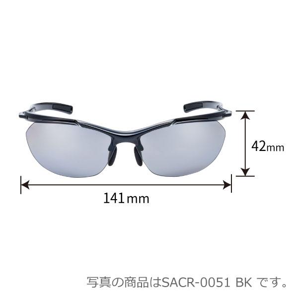 SACR-0701 BK/R Airless-Core エアレス・コア ミラーレンズモデル