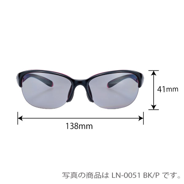 LN-0053 BK/PR LUNAルナ 偏光レンズモデル
