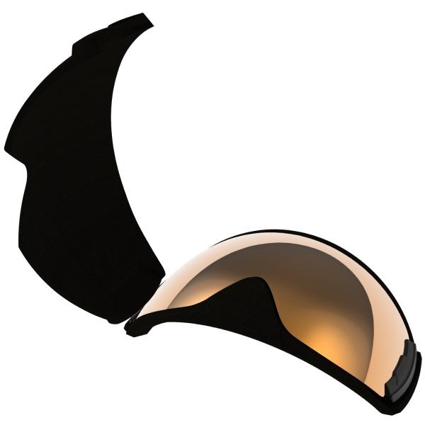 2020-2021 LRV-4265 CUL ROVO用レンズ(調光 ULTRA ミラー 撥水 PAF) レンズ単品