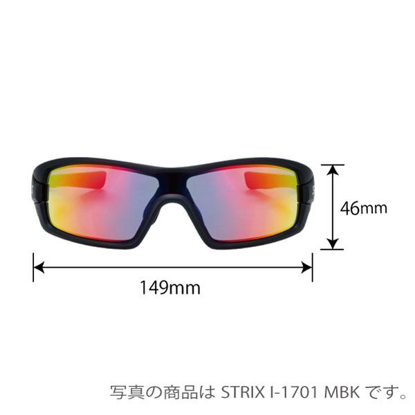 限定割引  STRIX I-0151 BK/GM ストリックス・アイ 偏光レンズモデル